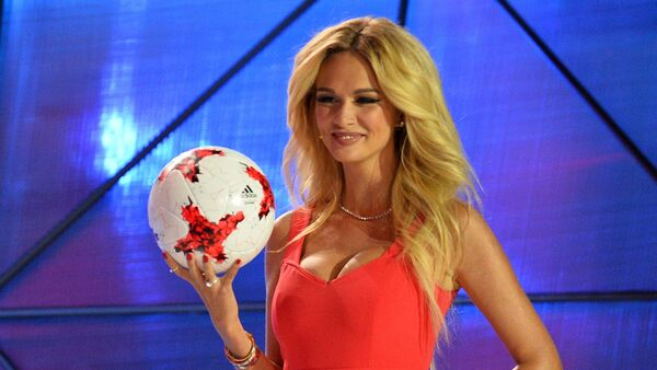 Victoria Lopyreva, embajadora de la Copa Mundial de la FIFA Rusia 2018 - Sputnik Mundo