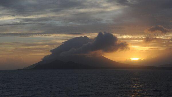 La isla de Kikai, cerca de la caldera homónima - Sputnik Mundo