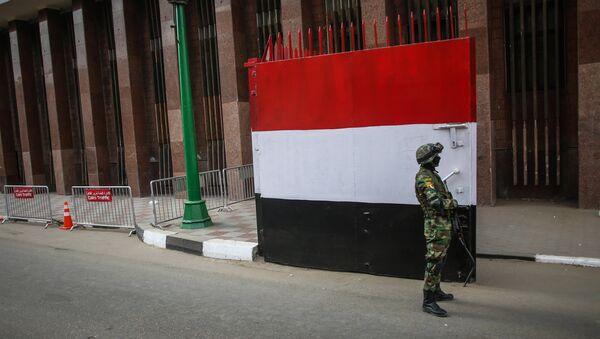 Un militar egipcio en el Cairo, la capital del país - Sputnik Mundo