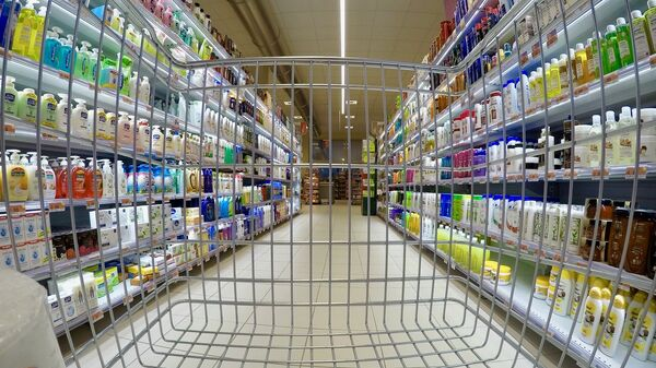 Un supermercado - Sputnik Mundo