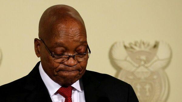 Jacob Zuma, presidente de Sudáfrica - Sputnik Mundo