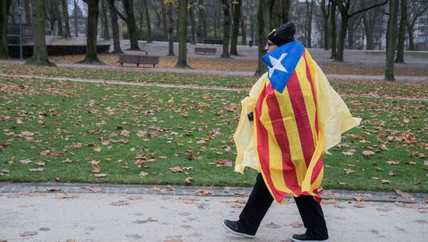 Bandera de Cataluña (imagen referencial) - Sputnik Mundo