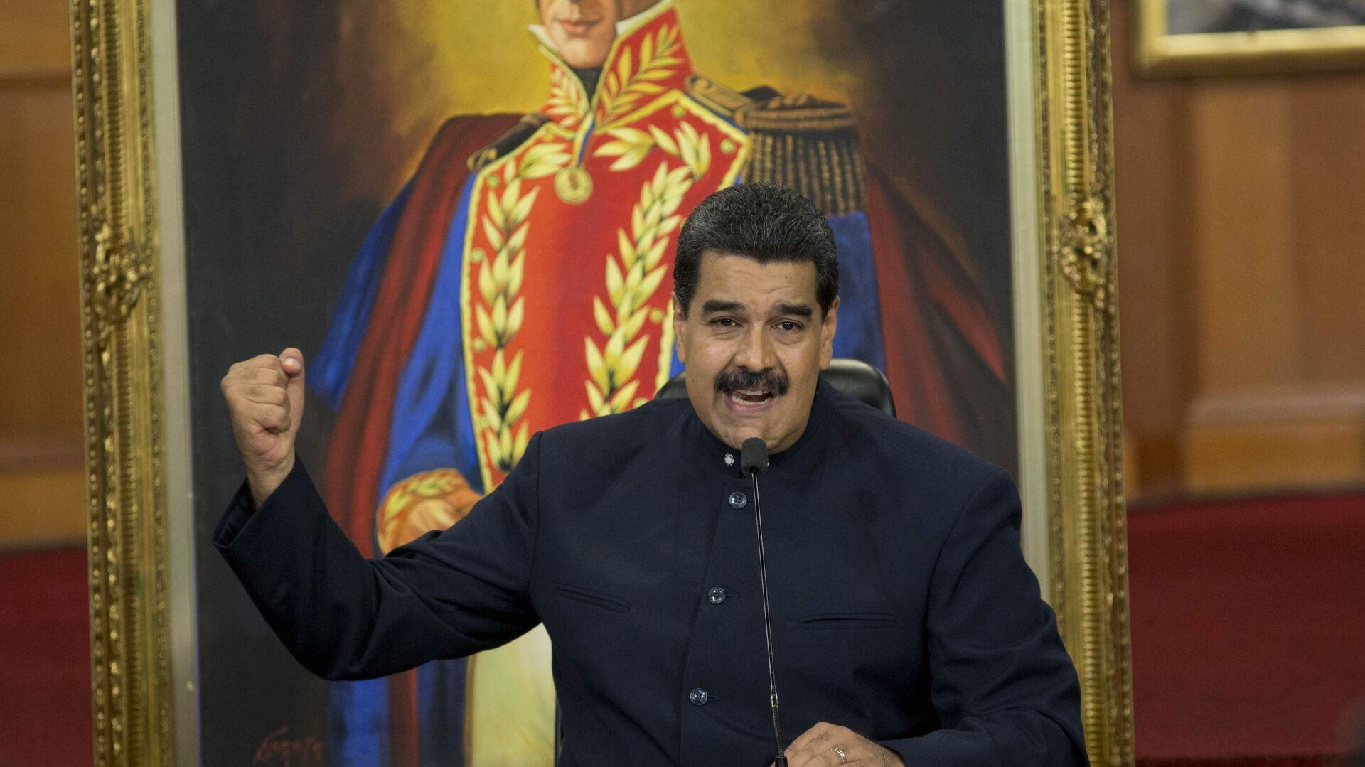 Nicolás Maduro, presidente de Venezuela - Sputnik Mundo, 1920, 13.10.2021