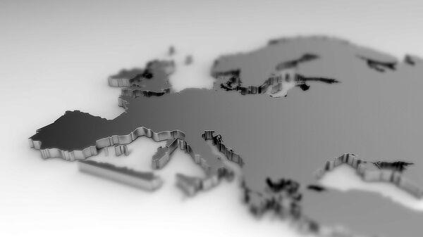 Mapa de Europa - Sputnik Mundo