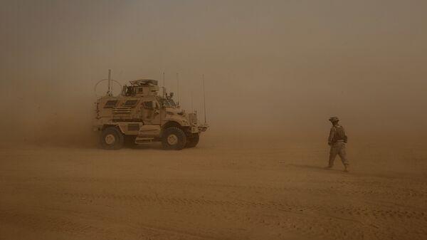 Soldado de EEUU en Irak - Sputnik Mundo