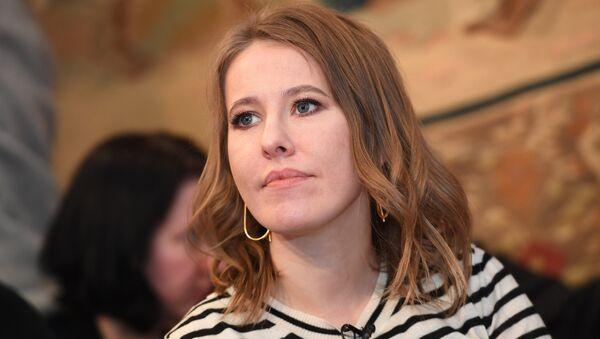 Ksenia Sobchak, la candidata a la presidencia rusa - Sputnik Mundo