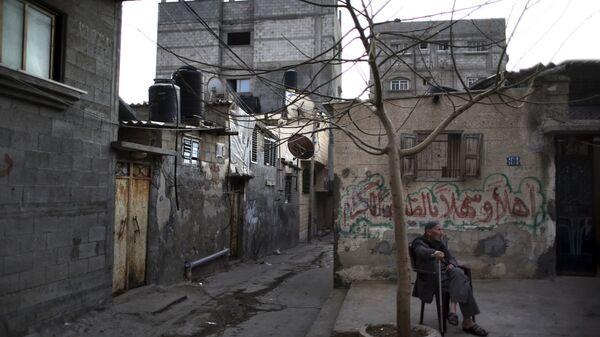 Situación en la Franja de Gaza - Sputnik Mundo