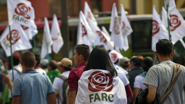 Los partidarios de las FARC (archivo) - Sputnik Mundo