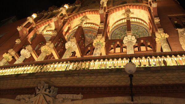 Palacio de la Música en Barcelona - Sputnik Mundo