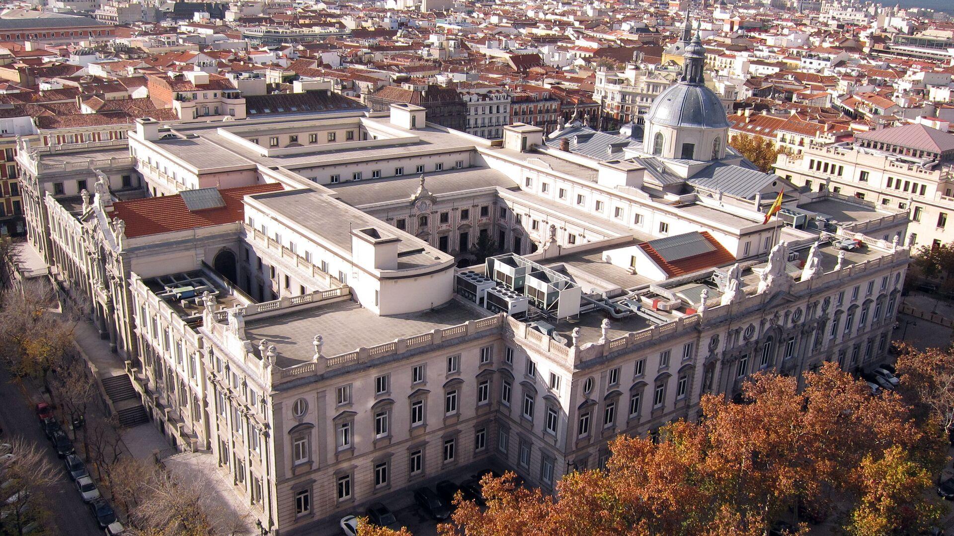 Tribunal Supremo de España en Madrid (vista aérea) - Sputnik Mundo, 1920, 30.09.2021