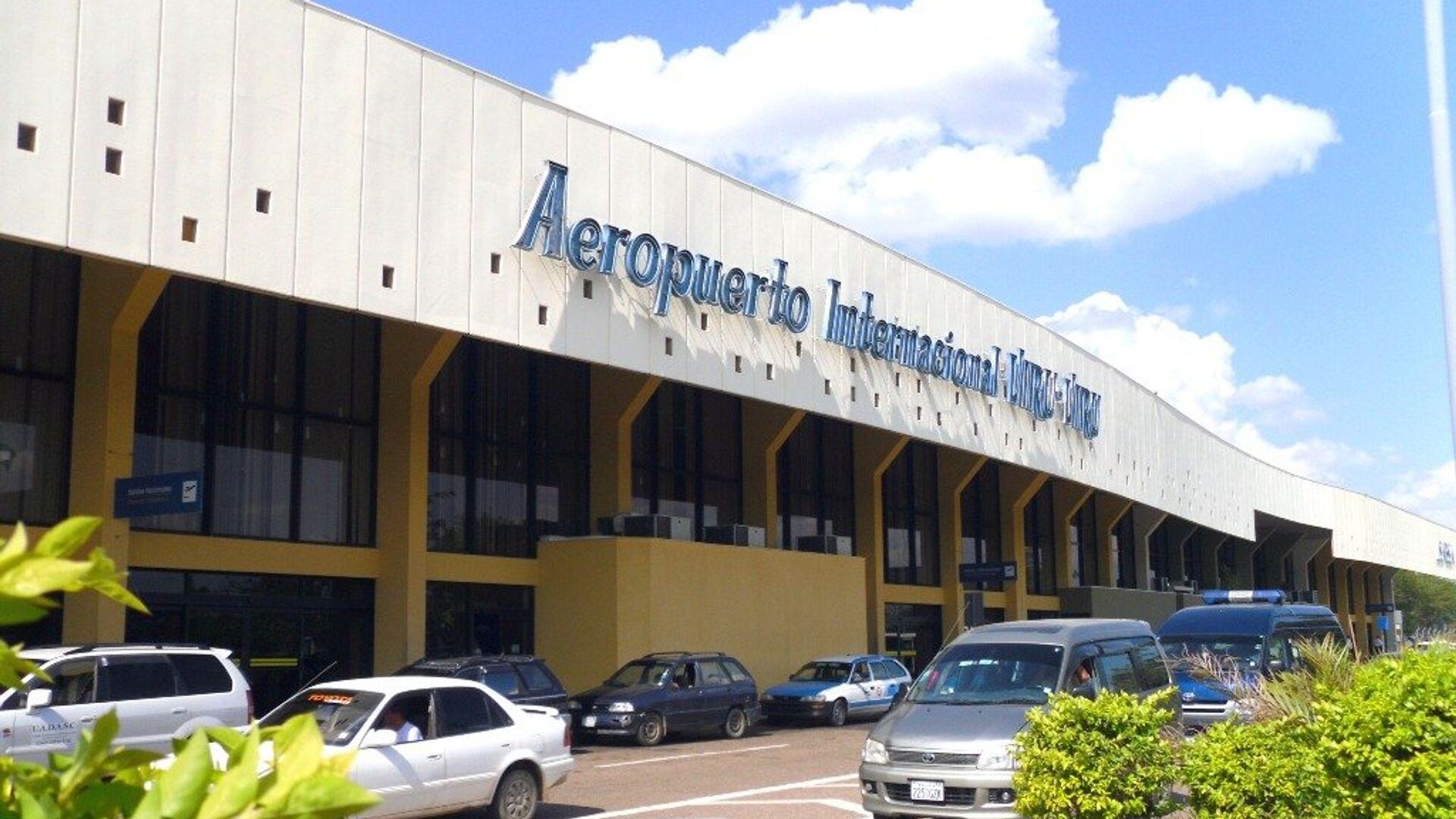 El aeropuerto internacional de Viru Viru en Santa Cruz de la Sierra - Sputnik Mundo, 1920, 24.09.2021
