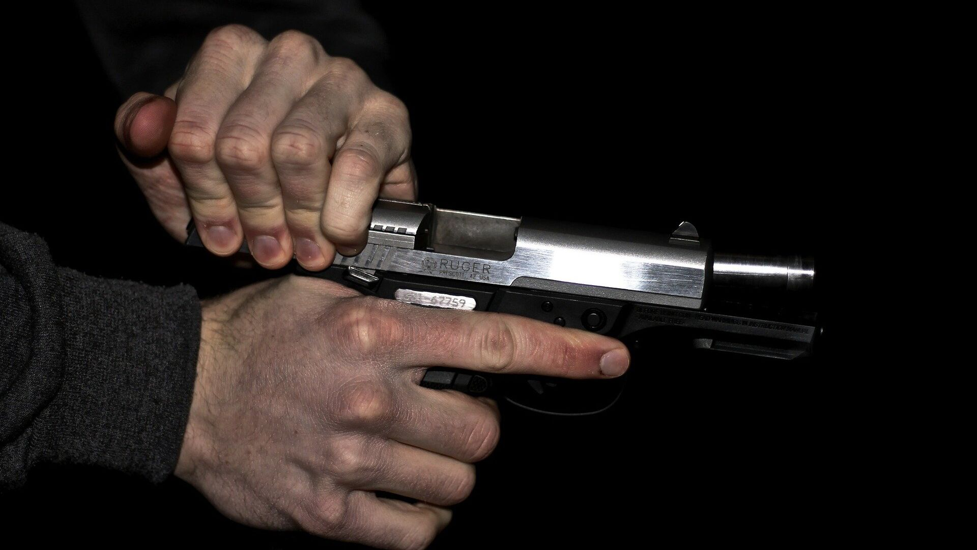 Una pistola (imagen referencial) - Sputnik Mundo, 1920, 08.10.2021