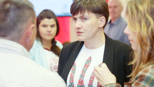 Nadezhda Sávchenko, diputada y militar ucraniana - Sputnik Mundo