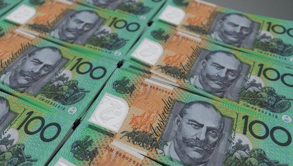 Los billetes del dólar australiano - Sputnik Mundo