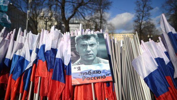 Marcha en memoria del opositor Borís Nemtsov (Archivo) - Sputnik Mundo