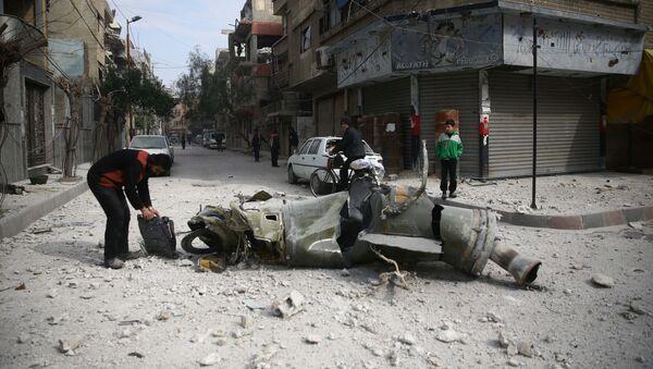 Situación en Damasco, Siria - Sputnik Mundo