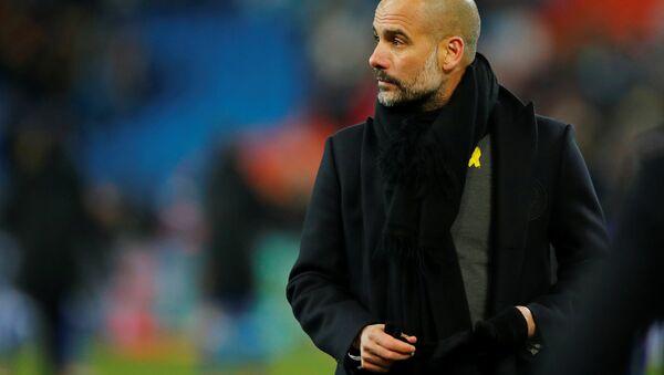 Pep Guardiola, entrenador catalán del Manchester City - Sputnik Mundo