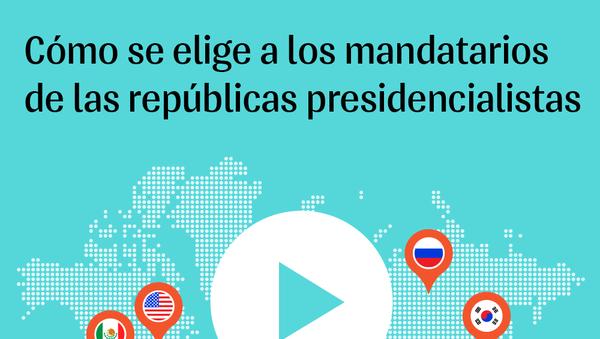 Cómo se elige a los presidentes de las repúblicas - Sputnik Mundo