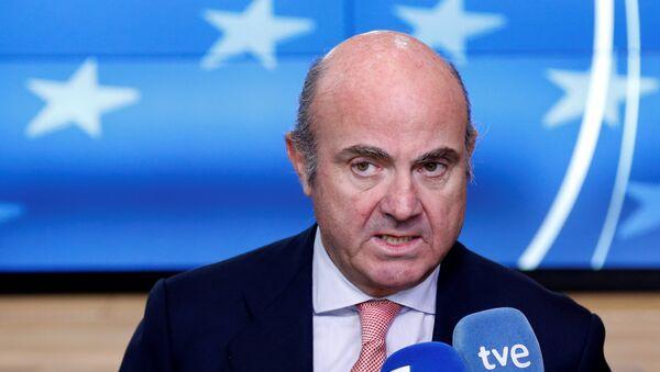Luis de Guindos, ministro español de Economía - Sputnik Mundo