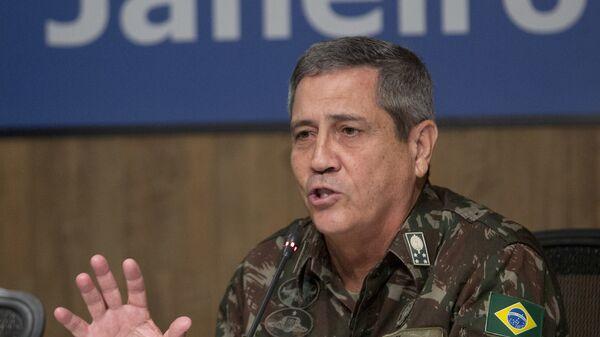 Walter Souza Braga Netto, interventor para la Seguridad Pública del estado de Río de Janeiro - Sputnik Mundo