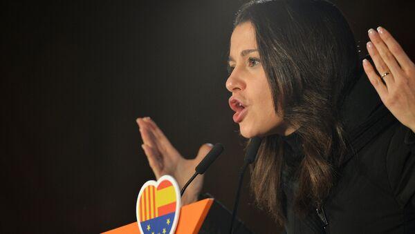 Inés Arrimadas, la líder de la oposición en el Parlamento catalán del partido Ciudadanos (archivo) - Sputnik Mundo