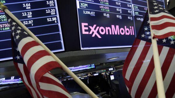 Logo de la empresa ExxonMobil - Sputnik Mundo