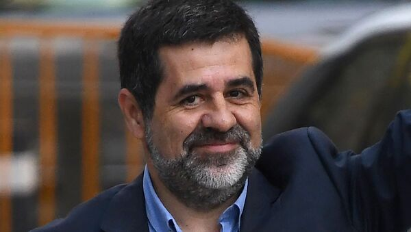 Jordi Sànchez, expresidente de la Asamblea Nacional Catalana - Sputnik Mundo
