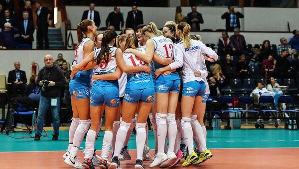 Jugadoras de voleibol (imagen referencial) - Sputnik Mundo