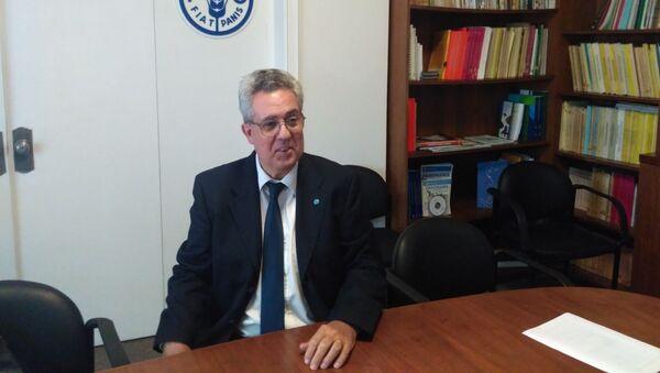 Vicente Plata, representante de la FAO en Uruguay - Sputnik Mundo