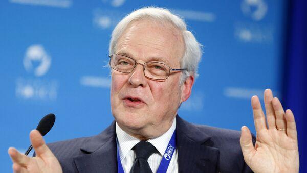 David de Rothschild, presidente de Rothschild Group - Sputnik Mundo