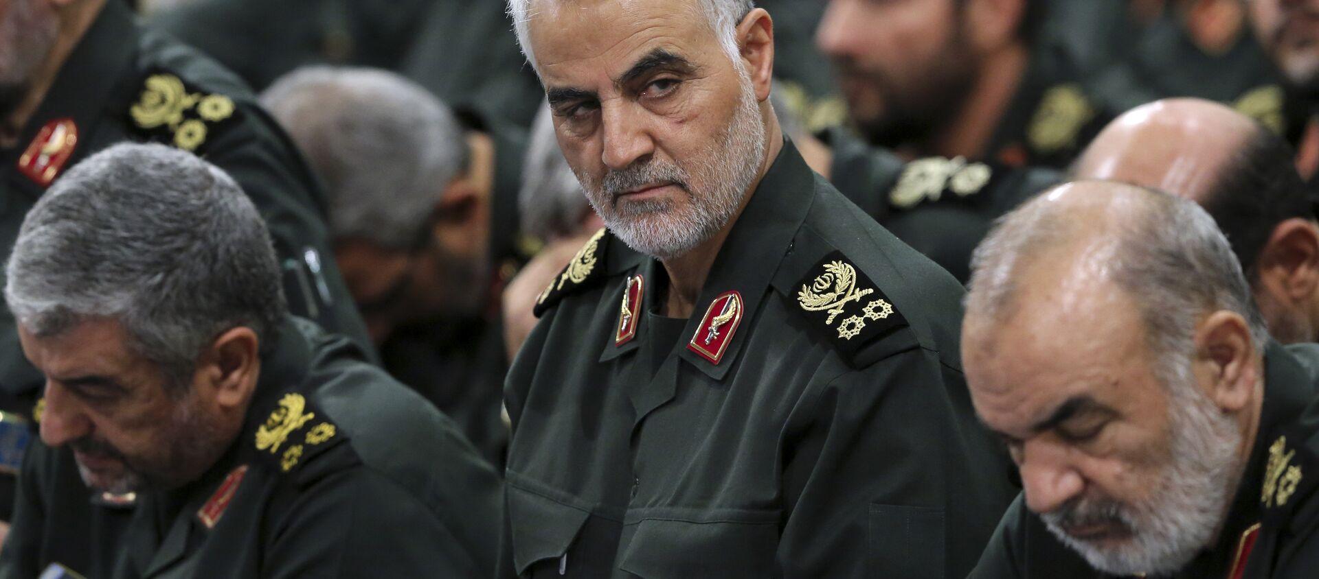Qasem Soleimani, general iraní  - Sputnik Mundo, 1920, 02.01.2021