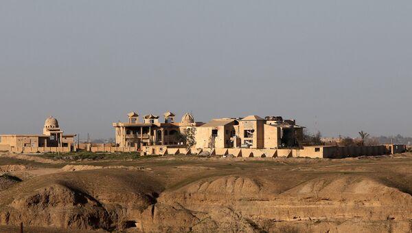 El palacio de Sadam Husein en Tikrit, Irak - Sputnik Mundo
