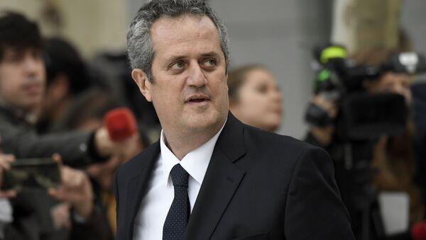 El exconsejero de Interior de la Generalitat (Gobierno catalán), Joaquim Forn - Sputnik Mundo