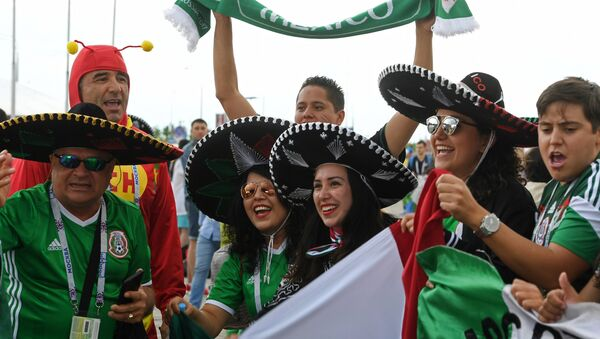Hinchas mexicanos (archivo) - Sputnik Mundo
