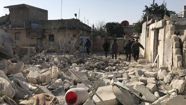 Situación en el cantón de Afrín, Siria - Sputnik Mundo