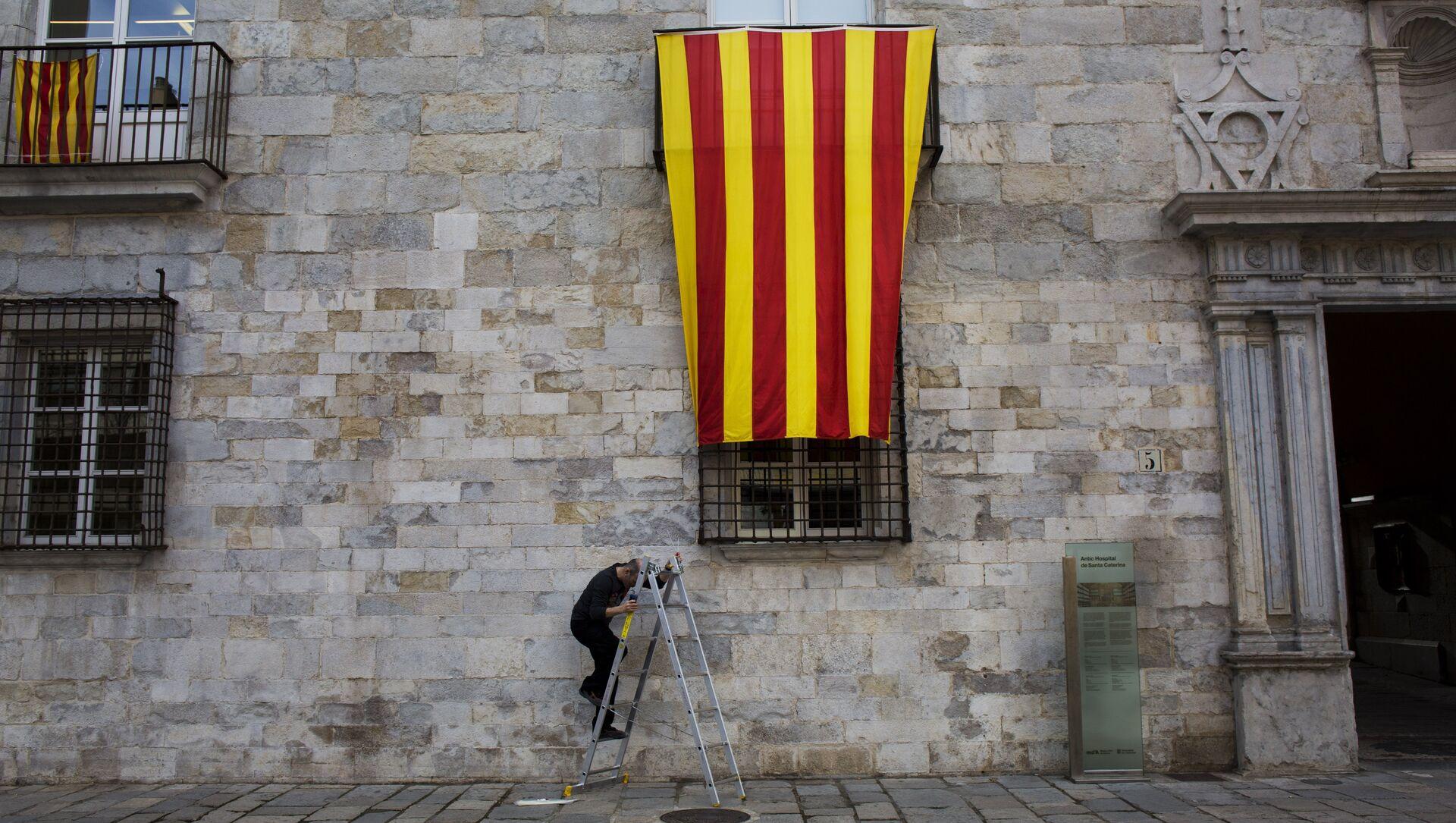 Bandera de Cataluña - Sputnik Mundo, 1920, 01.02.2021