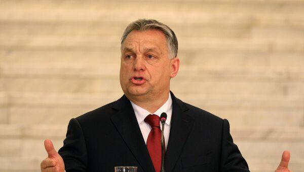 Viktor Orban, primer ministro húngaro - Sputnik Mundo