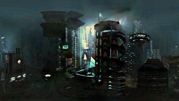 Un dibujo futurista (archivo) - Sputnik Mundo