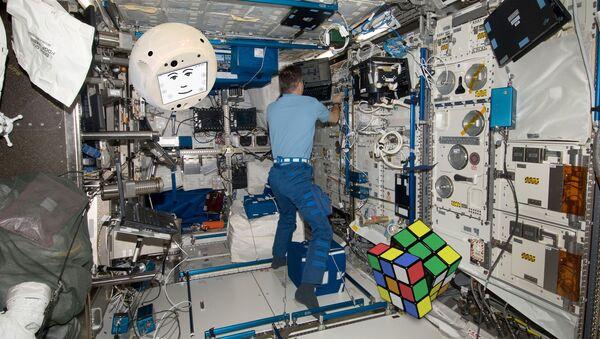 El robot CIMON - Sputnik Mundo