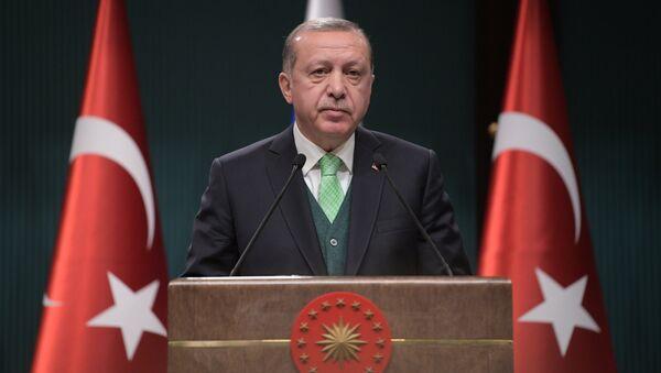 El presidente turco Recep Tayyip Erdogan (archivo) - Sputnik Mundo