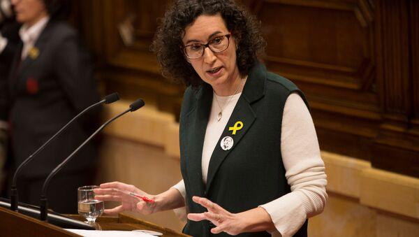Marta Rovira, secretaria general de la Esquerra Republicana de Catalunya (ERC) - Sputnik Mundo
