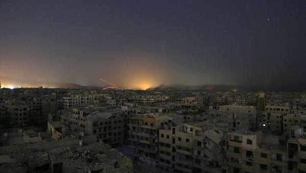Situación en Guta Oriental, Siria (archivo) - Sputnik Mundo