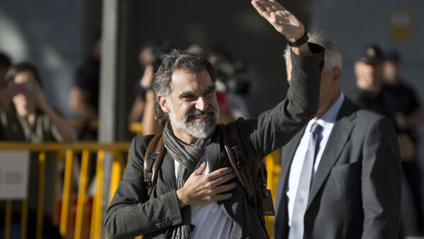 El presidente de la asociación soberanista Òmnium Cultural, Jordi Cuixart - Sputnik Mundo