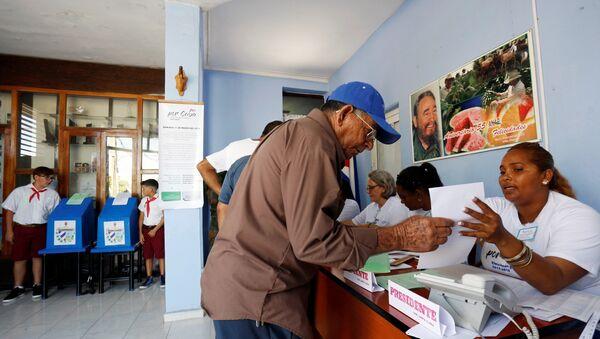 Elecciones parlamentarias en Cuba - Sputnik Mundo
