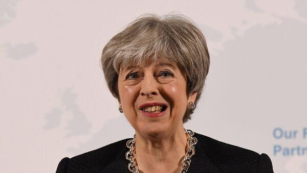 Theresa May, la primera ministra británica - Sputnik Mundo