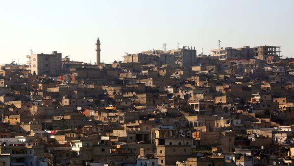 A general view shows the Syrian Kurdish enclave of Afrin - Sputnik Mundo