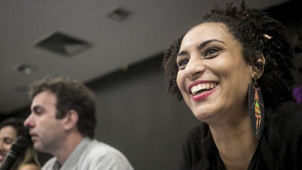 Marielle Franco, la concejal de Río de Janeiro por el partido Socialismo y Libertad asesinada el 14 de marzo de 2018 - Sputnik Mundo
