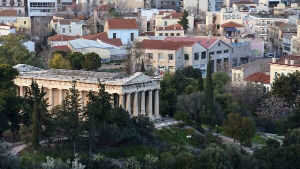 Atenas, la capital de Grecia - Sputnik Mundo