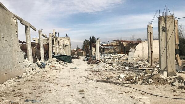 Situación en la Guta Oriental, Siria (archivo) - Sputnik Mundo