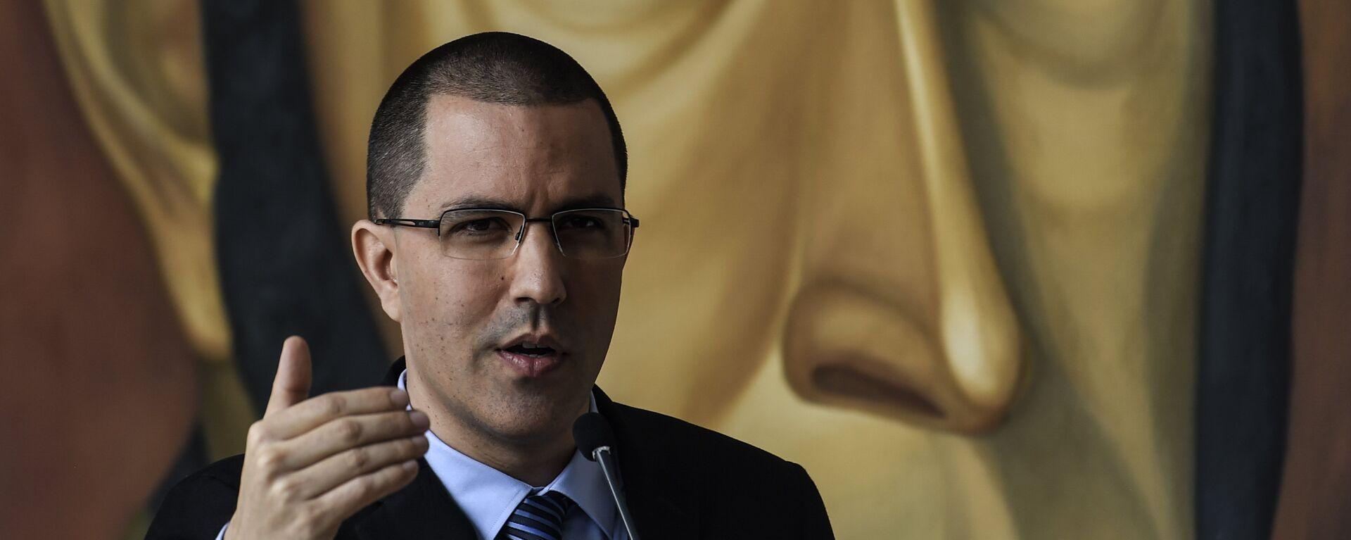 Jorge Arreaza, canciller de Venezuela - Sputnik Mundo, 1920, 29.01.2021